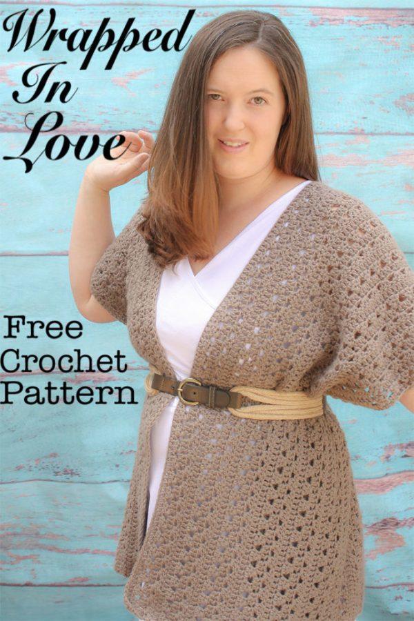 Wrapped In Love Free Crochet Pattern Winding Road Crochet