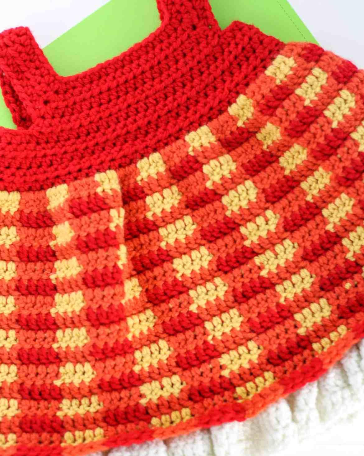 Buttoned Plaid Cowl Free Crochet Pattern Winding Road Crochet