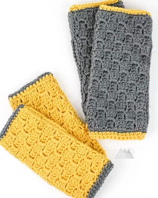 C2C Fingerless gloves