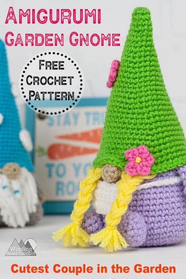 Amigurumi Gnome Free Crochet Pattern Winding Road Crochet