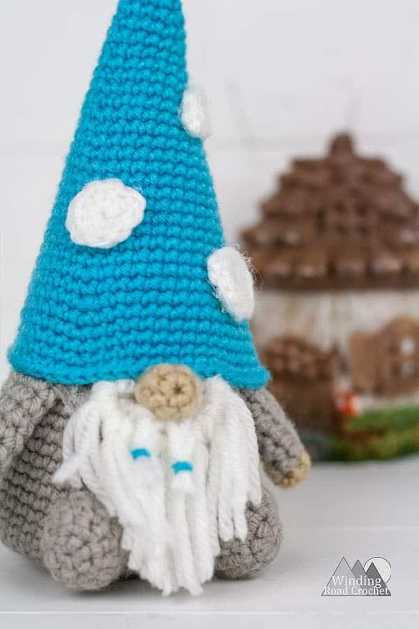 Amigurumi Gnome Free Crochet Pattern - Winding Road Crochet
