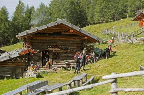 Alm in Südtirol