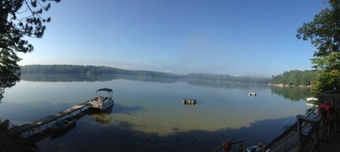 Good Morning Beautiful Spider Lake
