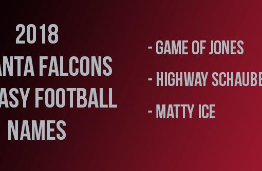 Atlanta Falcons Fantasy Football Names