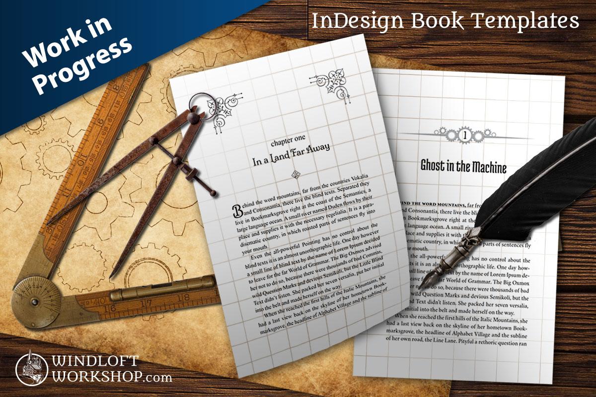 Book Templates for InDesign: In Development > Windloft Workshop