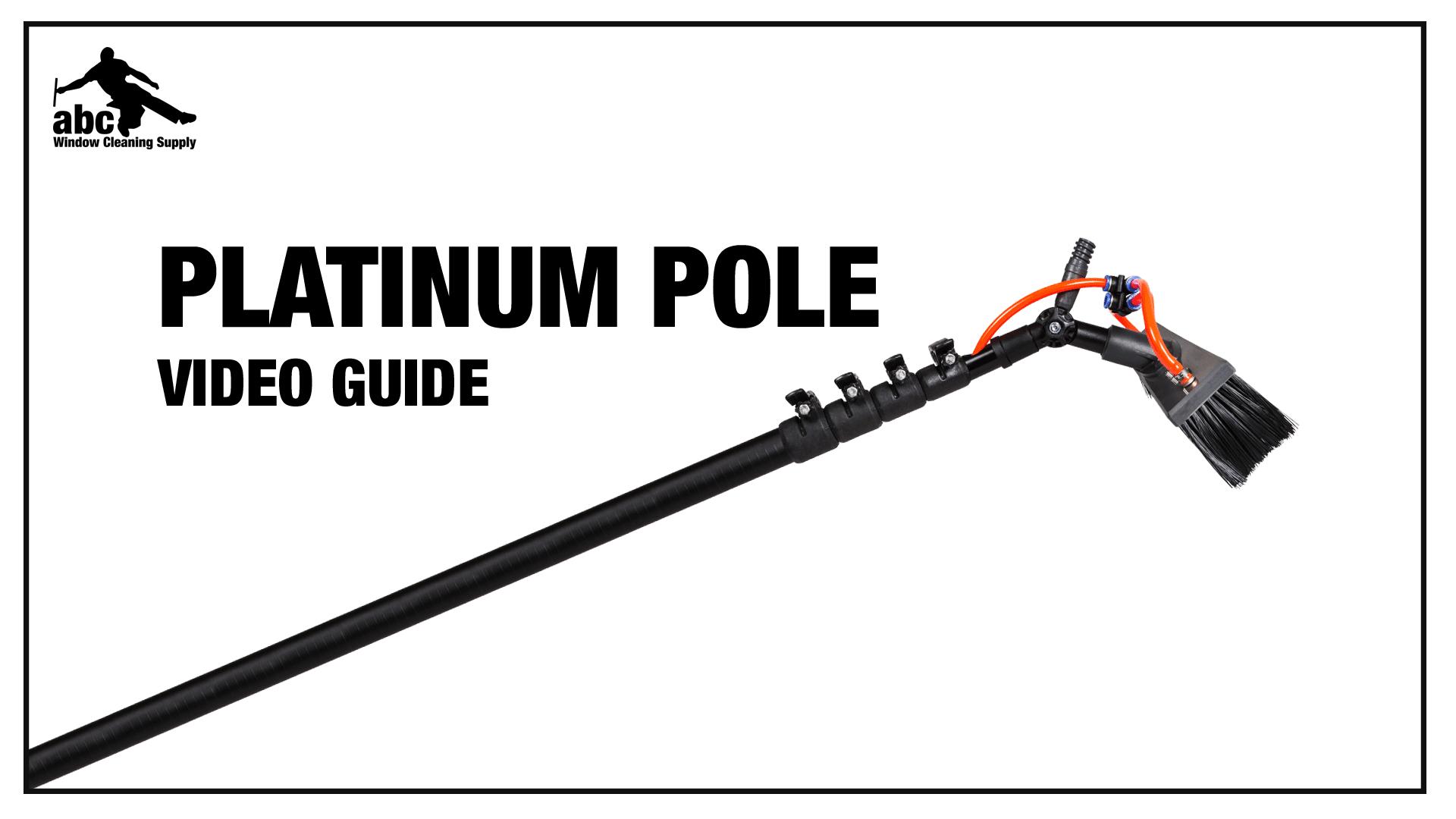 High Modulus Carbon Fiber Triple Crown Platinum Waterfed Pole