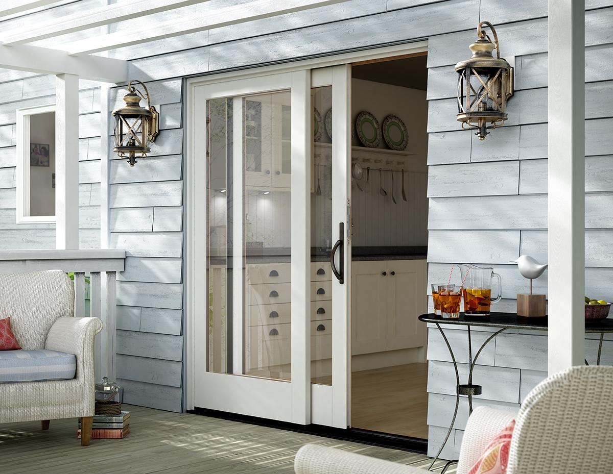 replacement patio door the window and