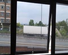 one way window film