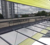 Stainless Steel 25 external window film