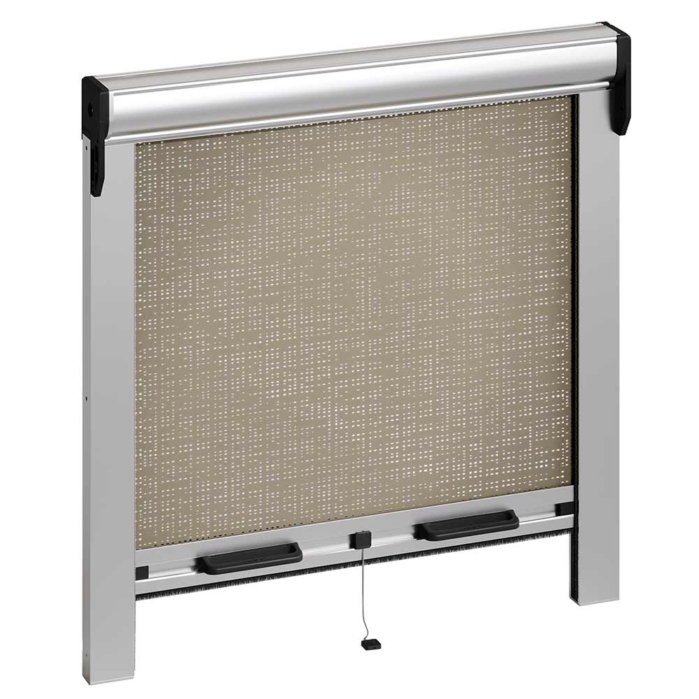 The zip system is ideal for vertical and horizontal blinds, for outdoor and indoor applications, both small and large. Roller Blind With Sping And Round Box Pronema Windowo