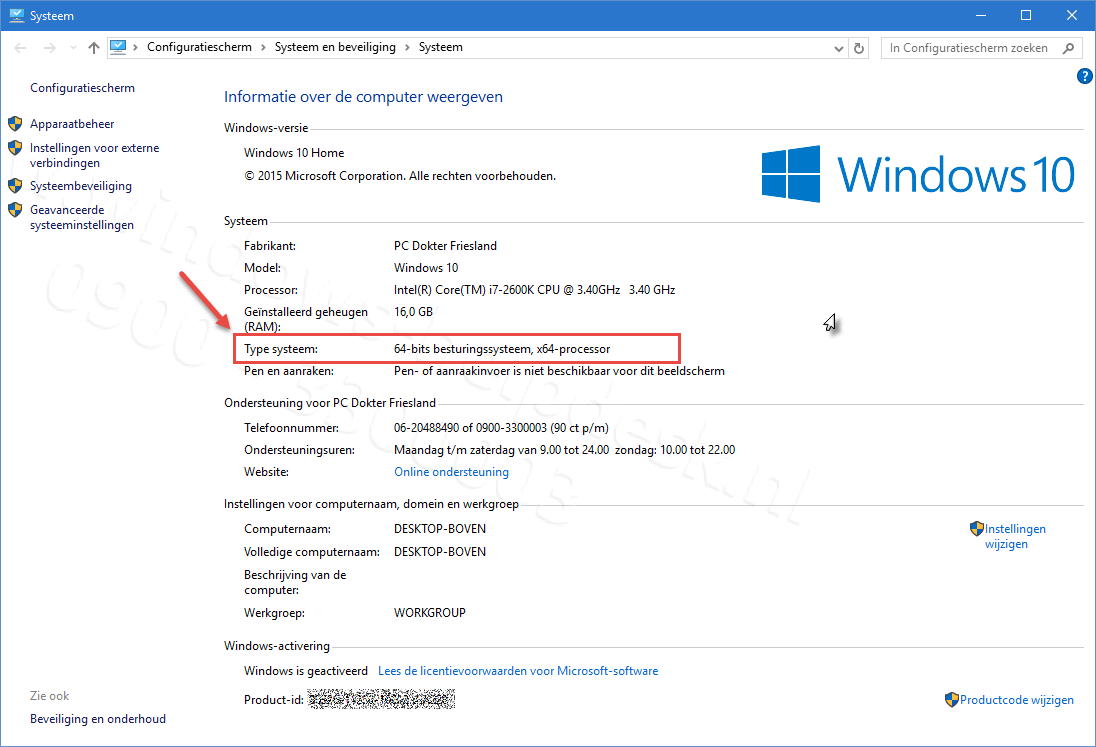 how to know if windows is 32 or 64