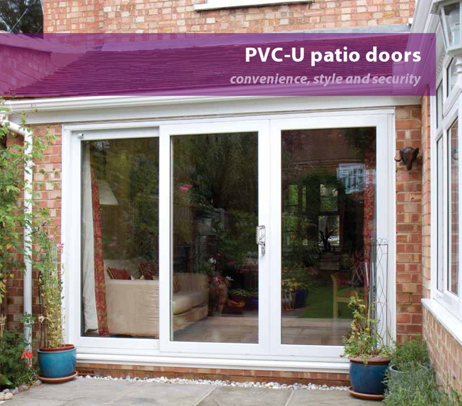 uPVC Sliding Patio Doors | Available from a choice of ten colours