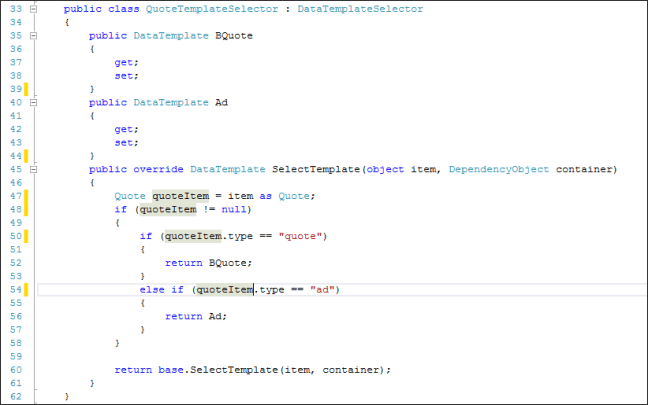 Data Template | Implementing A Custom Data Template Selector In Windows Phone 8 S