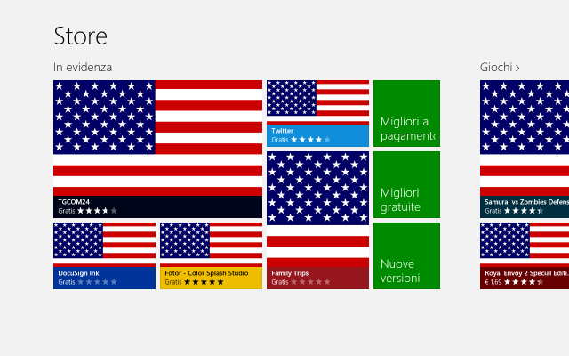USA Windows Store