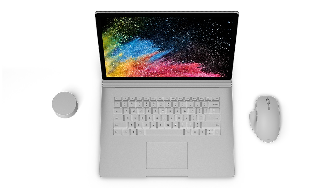 Surface Book 2 mouse dial