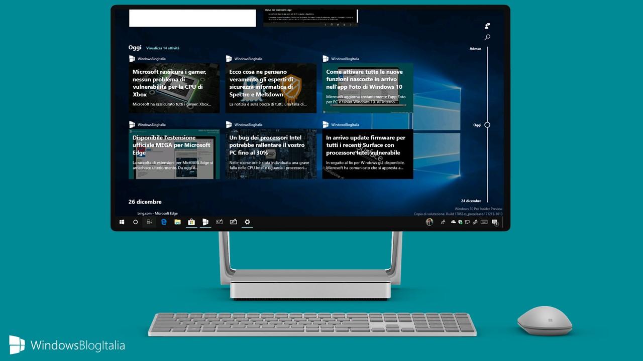 Windows 10 Build 17074