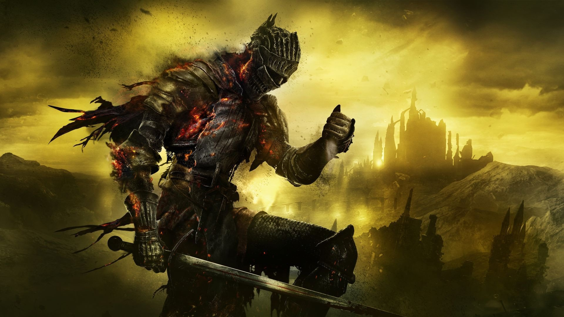Dark Souls 3 Key Art