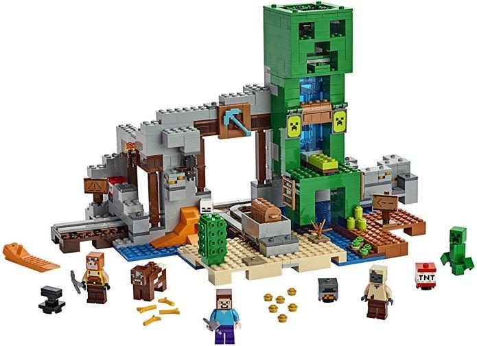 Minecraft Lego The Creeper Mine Reco Image