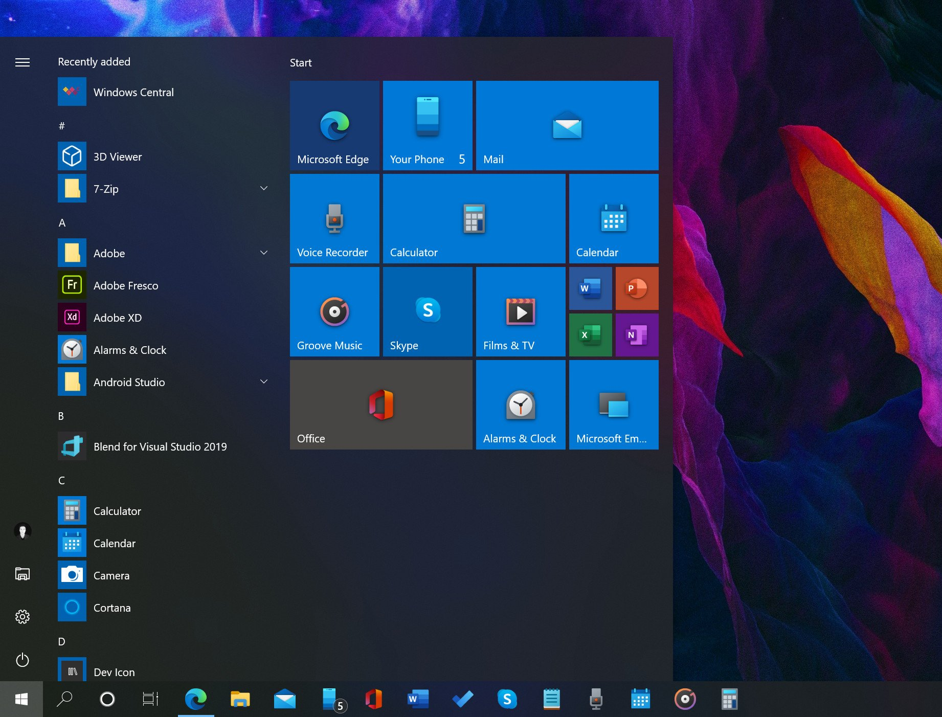 The new Windows 10 mail and calendar icons are now publicly available