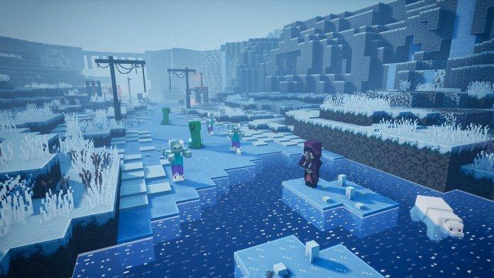 Minecraft Dungeons Frozen Fjord