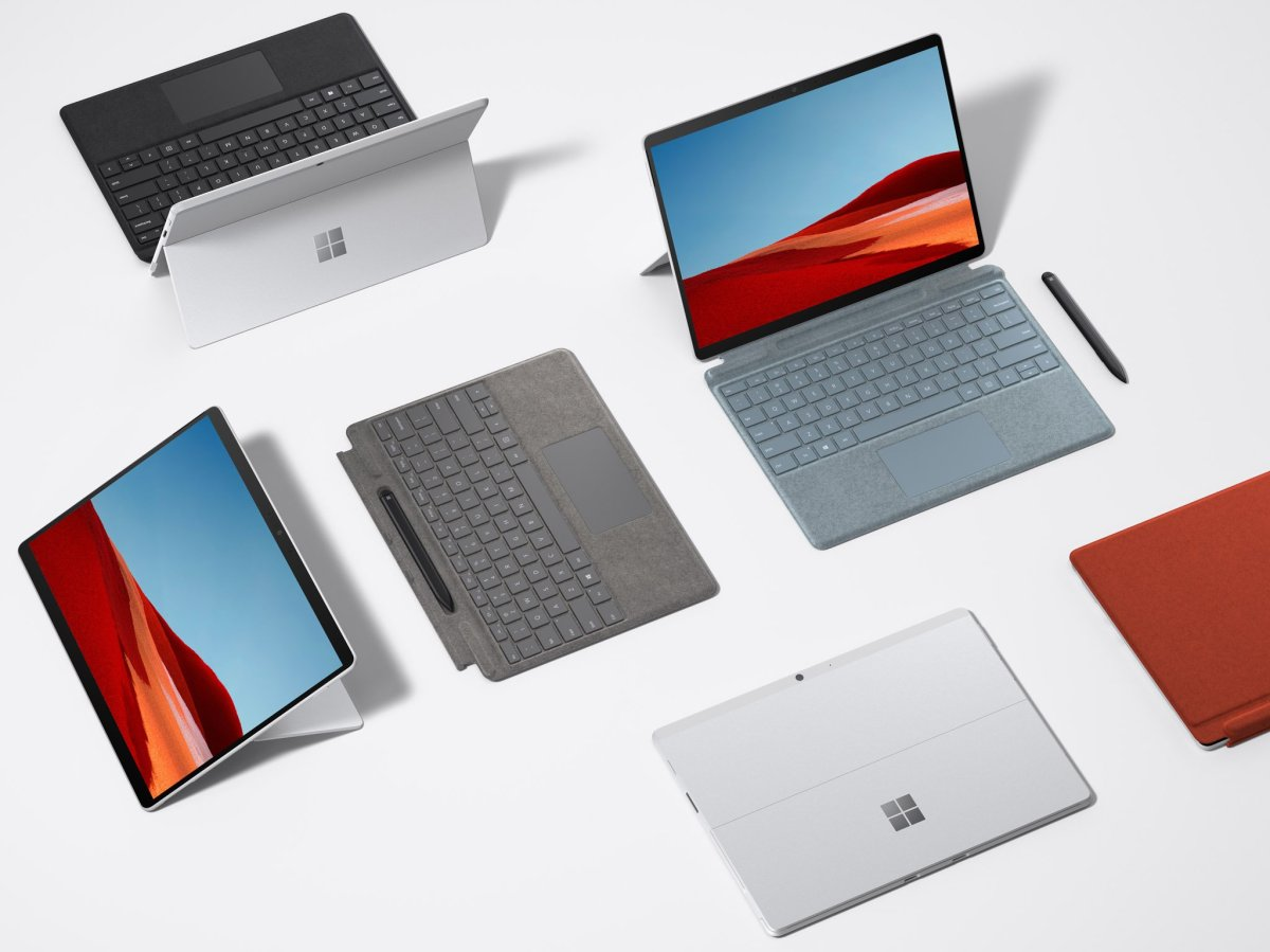 Surface Pro X Sq2 Press Group
