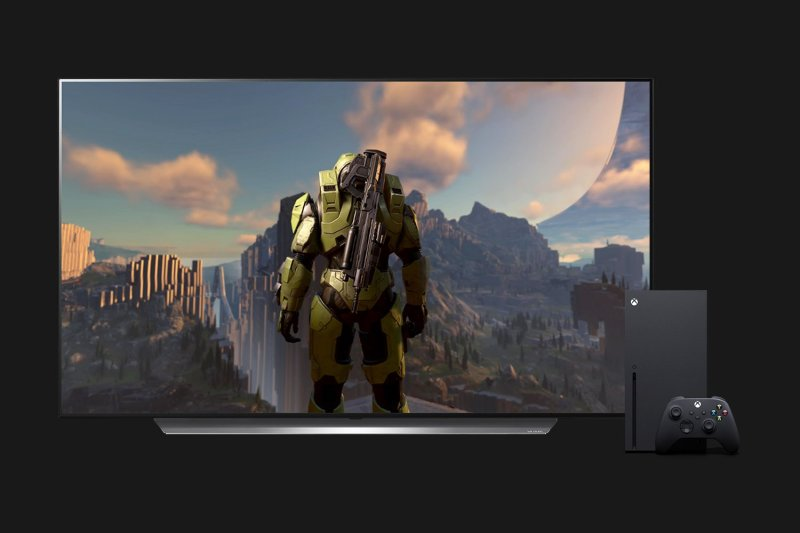 LG CX, Xbox Series X