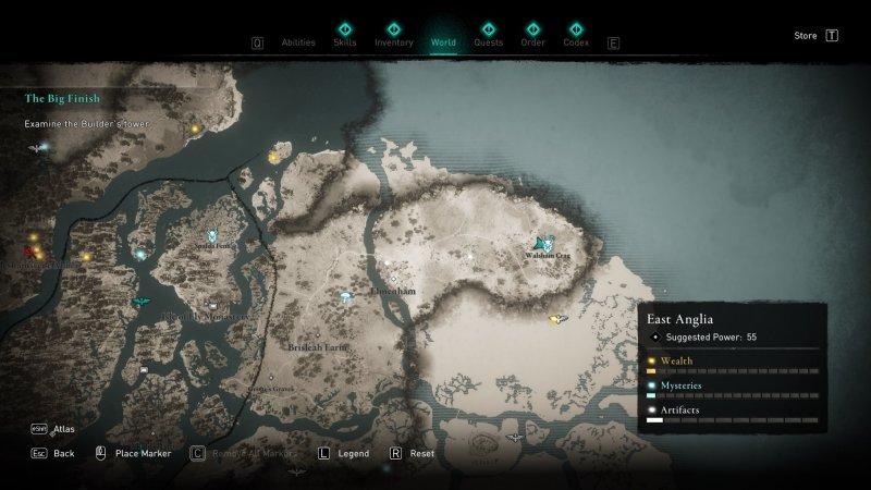 Assassins Creed Valhalla Cordelia Location