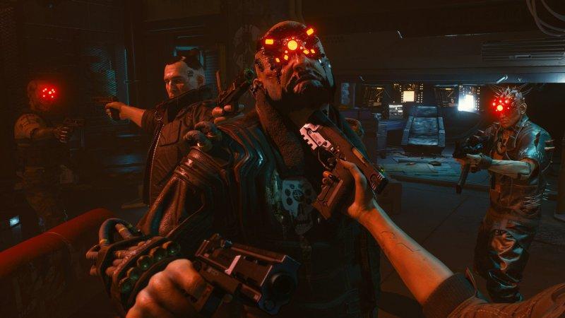 Cyberpunk 2077 Standoff