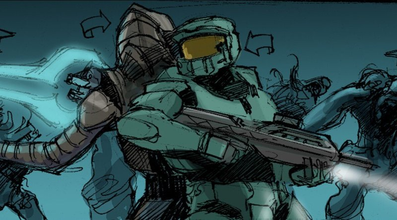 Halo 3 Storyboard