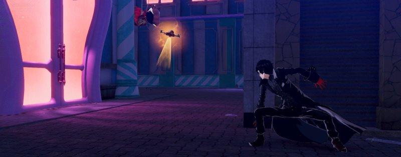 Persona 5 Strikers Sneaking