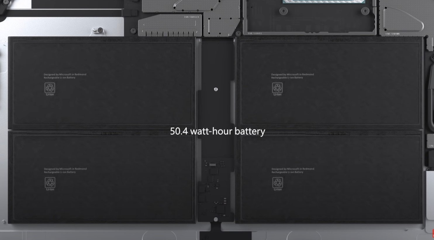 Surface Pro7 Battery