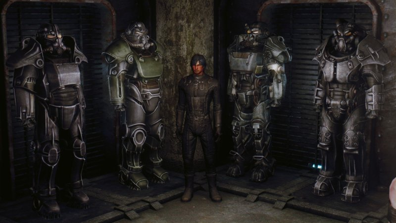 Fallout 4 Power Armors for New Vegas