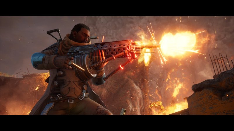 Outriders Fire Gun