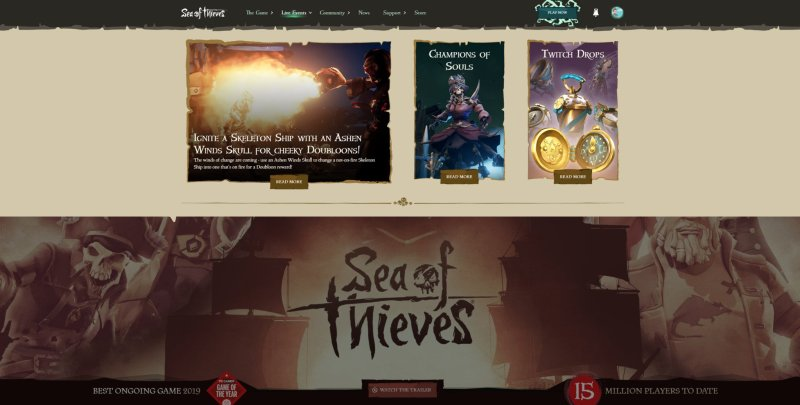 Sea Of Thieves Live Events