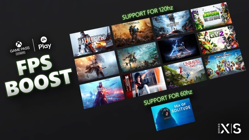 Xbox FPS Boost New Titles
