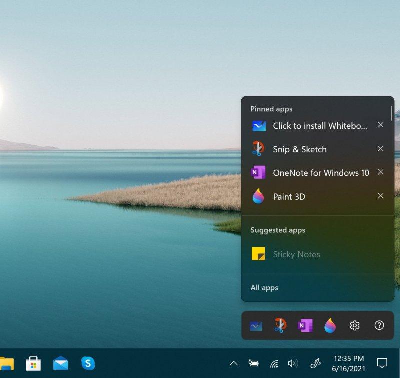 Windows 11 Inkspace