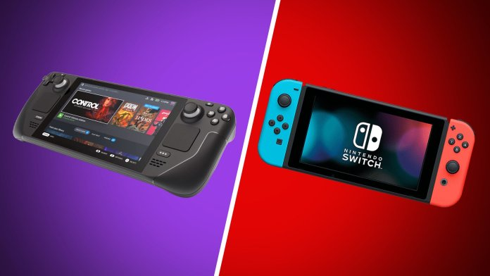 Steam Deck And Nintendo Switch