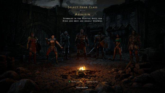 Diablo 2 Resurrected Assassin Hero Image