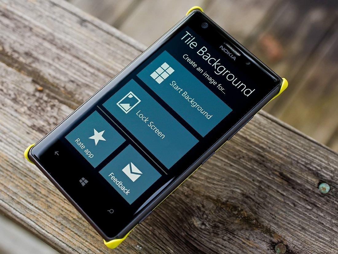 Menu Phone 8 Start Windows