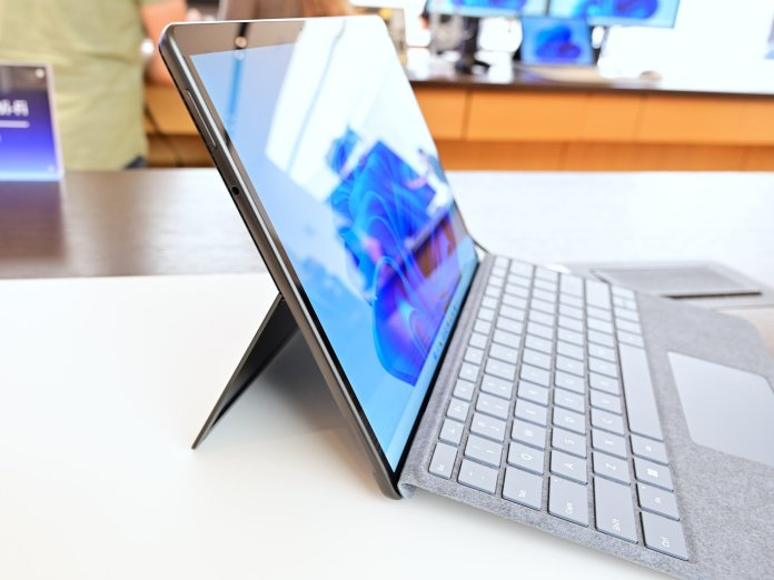 Surface Pro 8 Side
