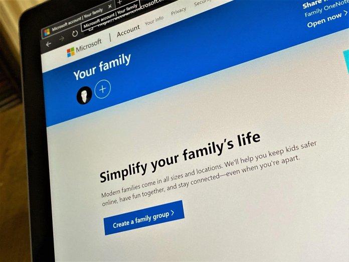 Microsoft Family Settings