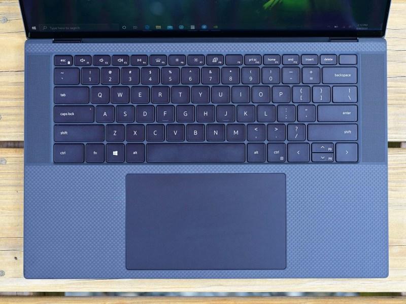 Dell Xps 15 9500 Keyboard Trackpad