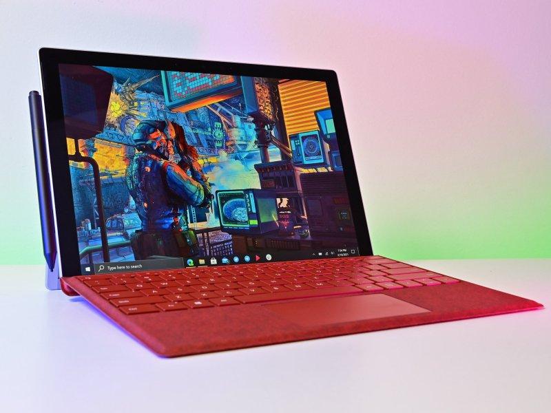 Surface Pro 7 2021 Lede