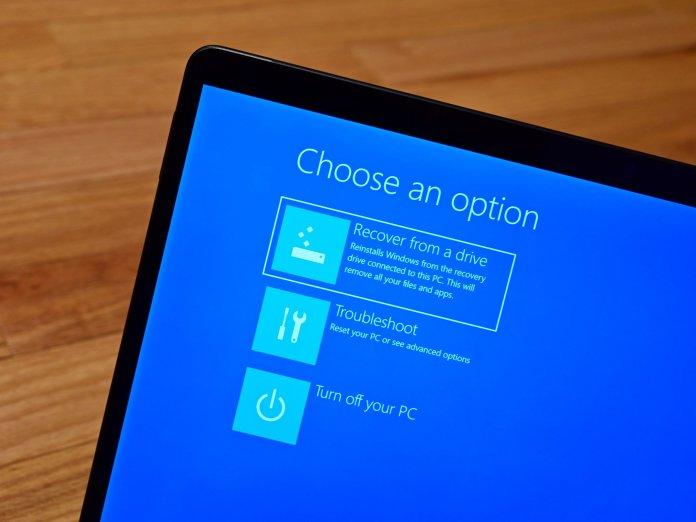 Windows 11 Recovery Drive