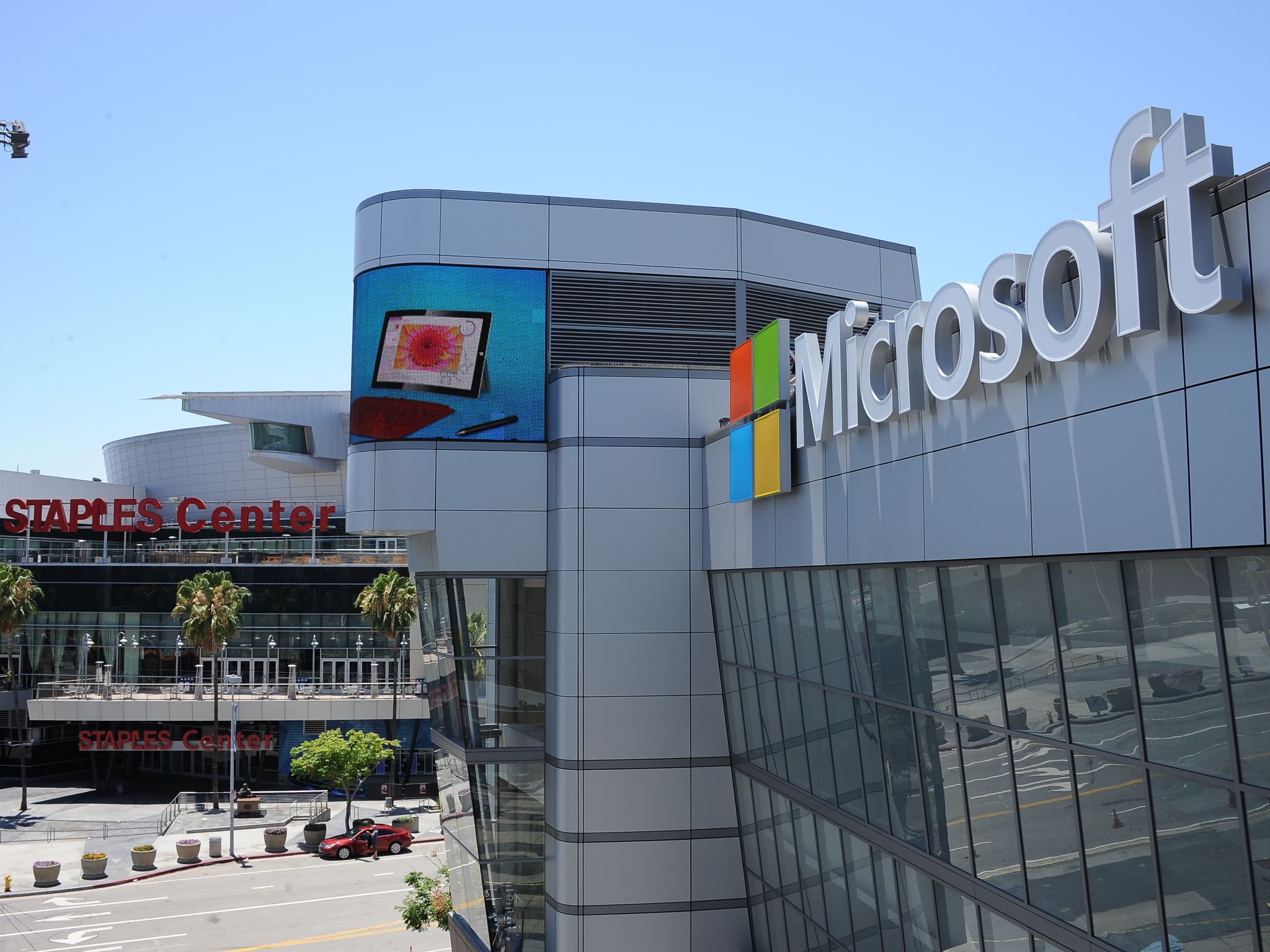 Microsoft Puts Its Name On The Old Nokia Theater In Los