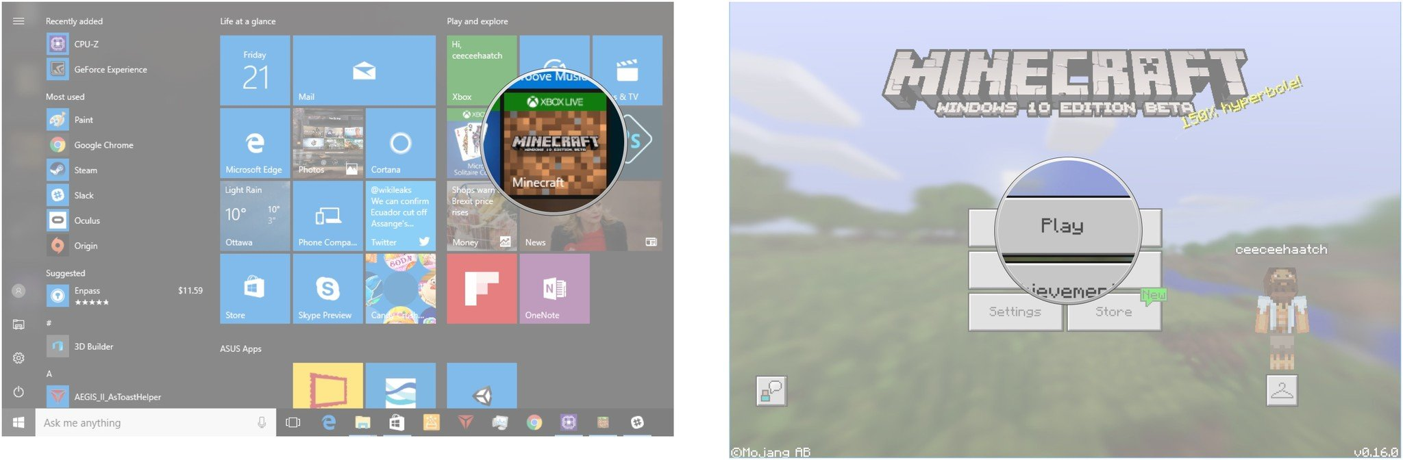 Guide To Slash Commands And Cheats In Minecraft Windows 10 Windows Central
