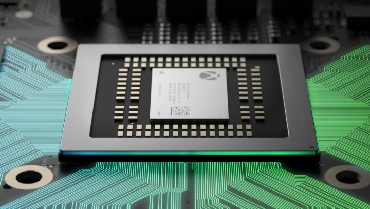Image result for xbox one vs ps4 pro chips