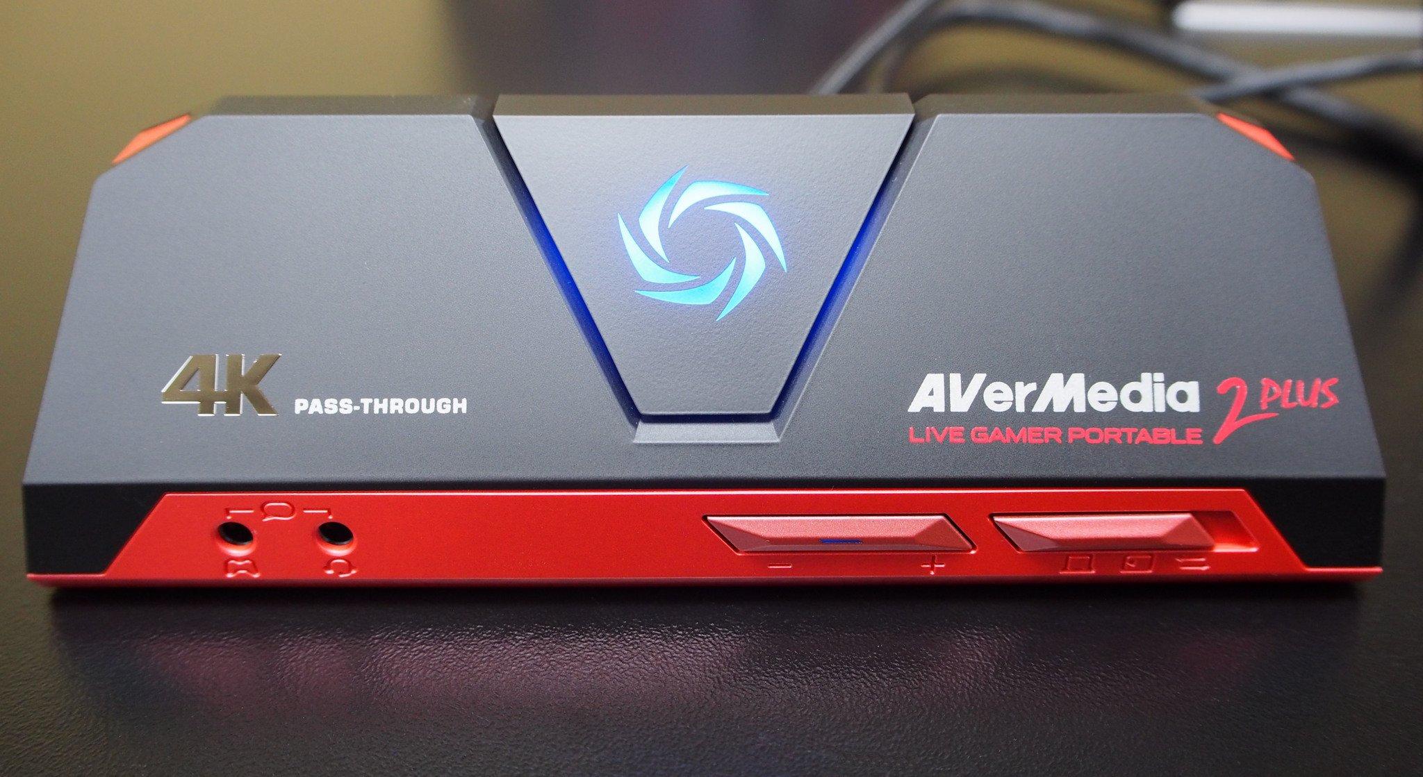 AVerMedia Live Gamer Portable 2 Plus Capture Device Has 4K