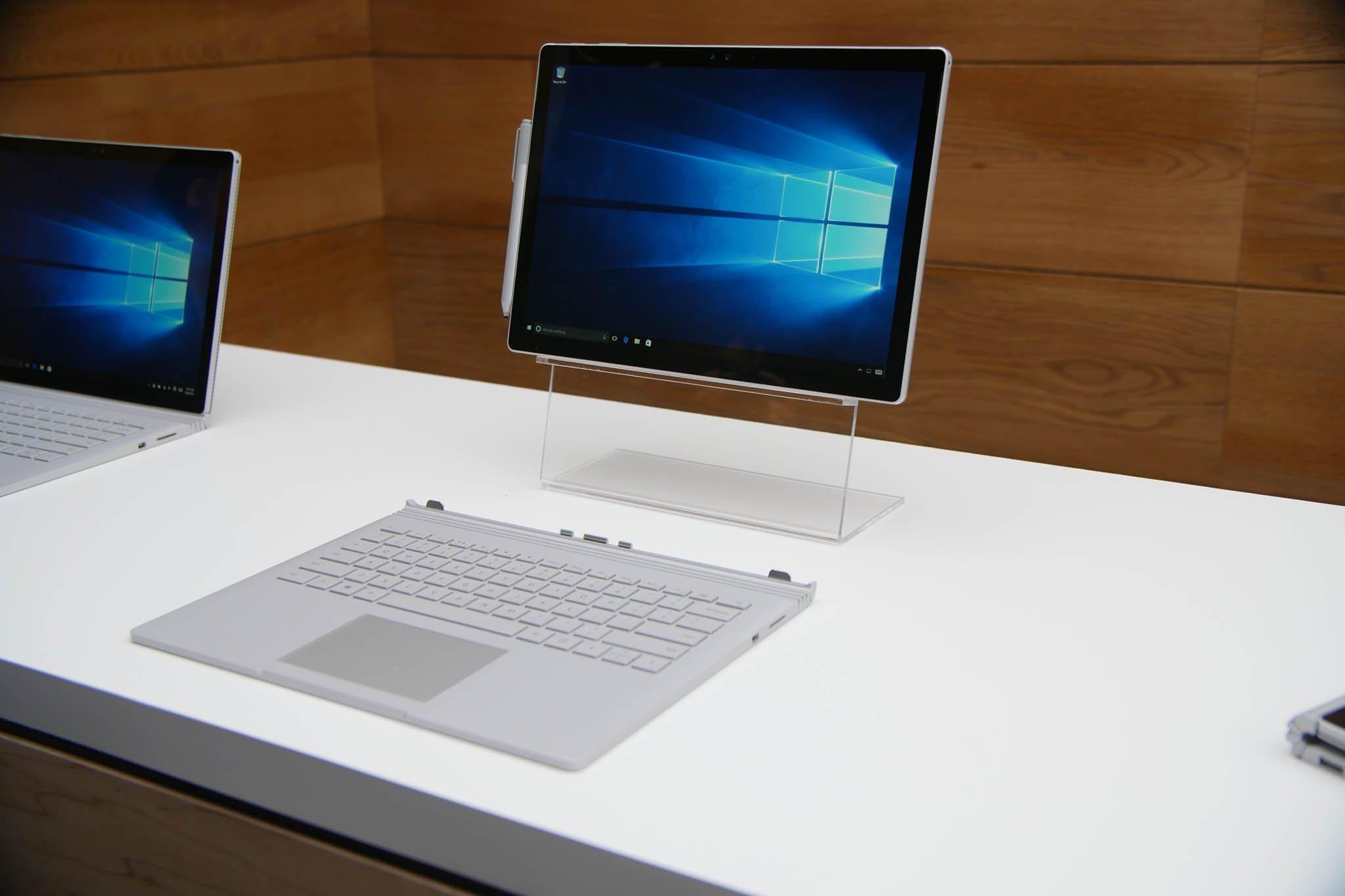 PC Or Mac Microsoft Surface Book Versus 13 Inch MacBook