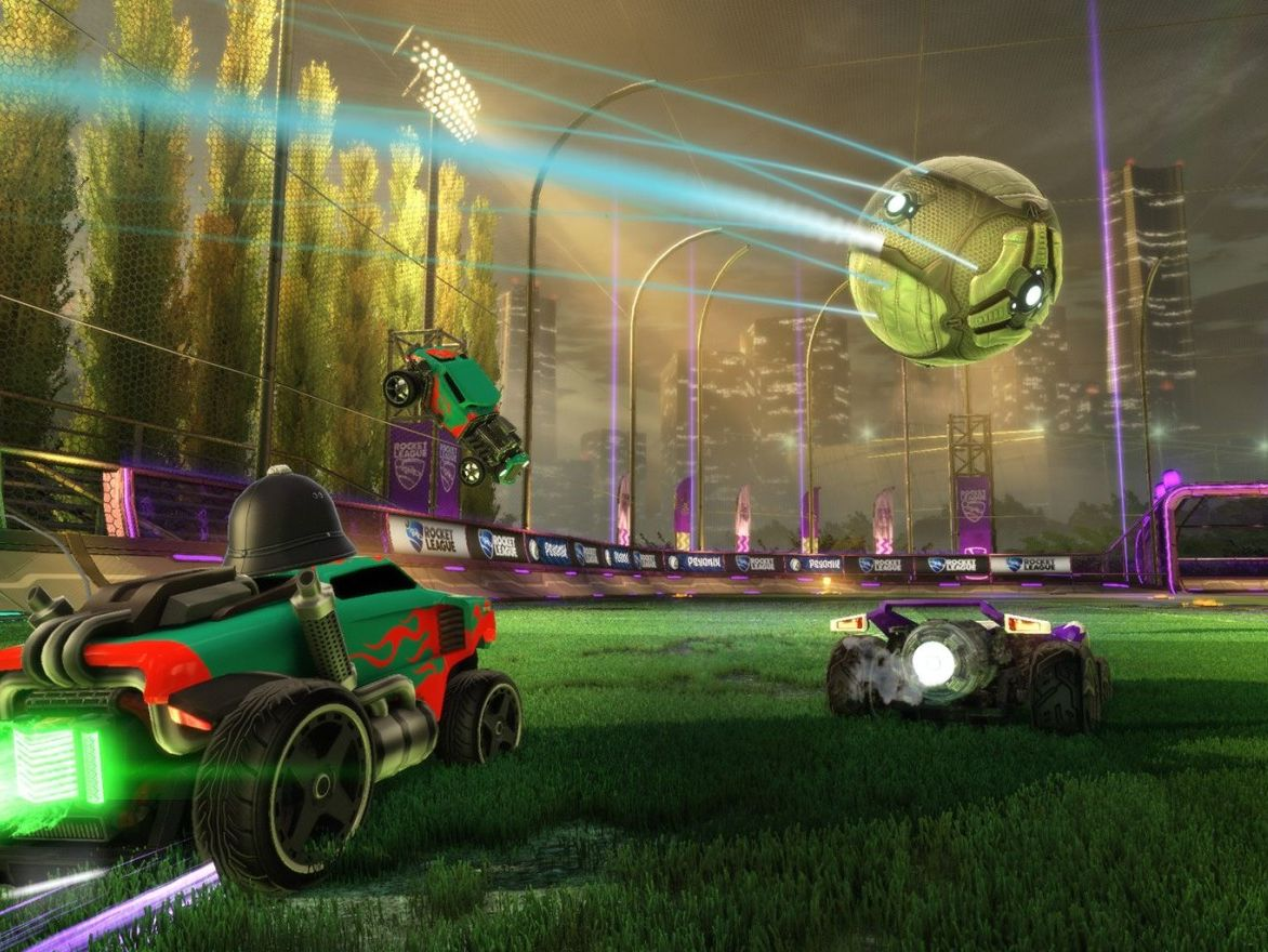 Best local co op games on Xbox One   Windows Central You get Rocket League     an awesome multiplayer game where the aim of the  game is to put the ball into your opponent s net